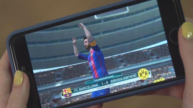 Kicken auf dem Smartphone: 'Pro Evolution Soccer 2017'