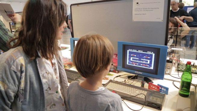 Retro-Games und mehr beim Vintage Computing Festival