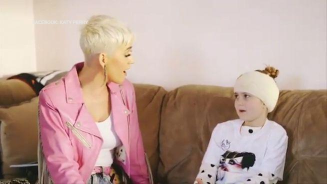 Katy Perry: Für einen kleinen Fan singt sie ganz privat