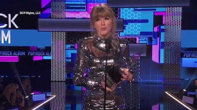 Taylor Swift ist der große Abräumer bei den 'American Music Awards'