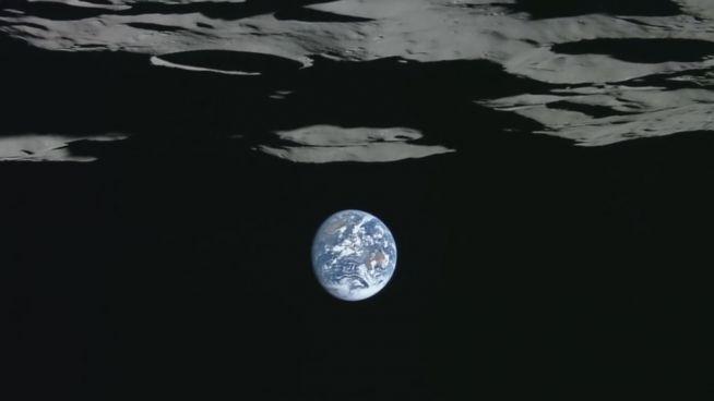 Verkehrte Welt: Packende Bilder von aufgehender Erde