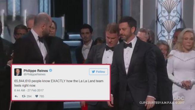 Oscars 2017: Die lustigsten Reaktionen im Netz