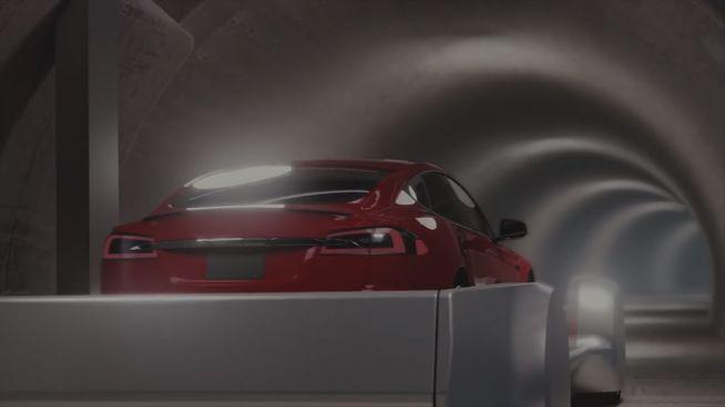 Reisen wir in Zukunft mit Hochgeschwindigkeit durch Tunnel?