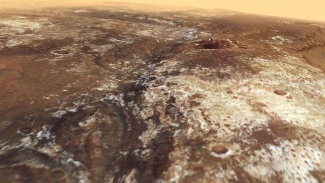 Atemberaubende Bilder: Flug durch Tal auf dem Mars