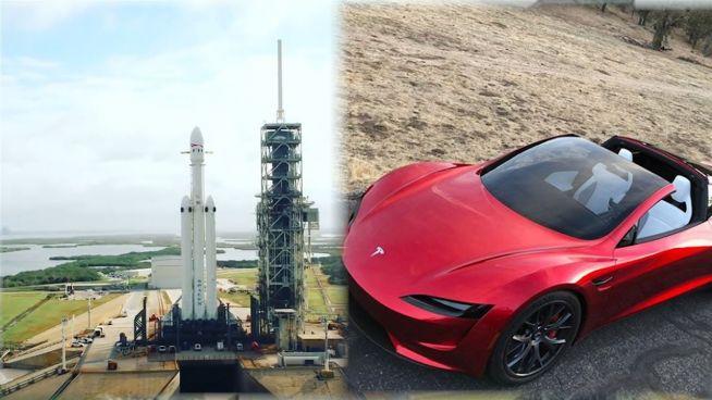 Neue Super-Rakete: Elon Musk feuert Tesla zum Mars