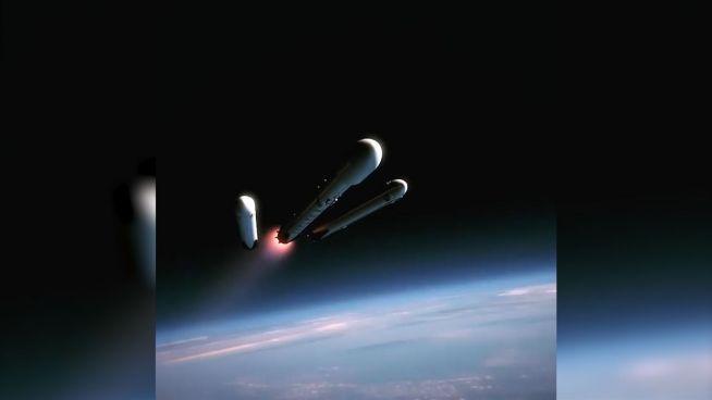 Raketen-Spielzeug: Elon Musks Heavy Falcon